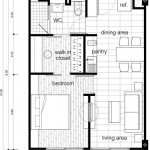 The Lai Thai Floor Plans: One Bedroom Unit Type B